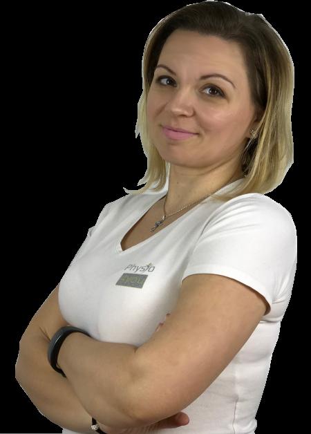 Tóth-Jova Erzsébet gyógytornász, manuálterapeuta